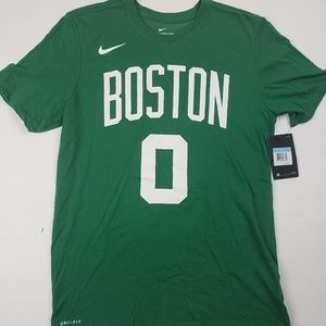 Nike tee boston celtics Tatum 0 nwt green